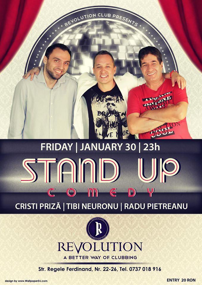 Stand-up Comedy @ Revolution Club
