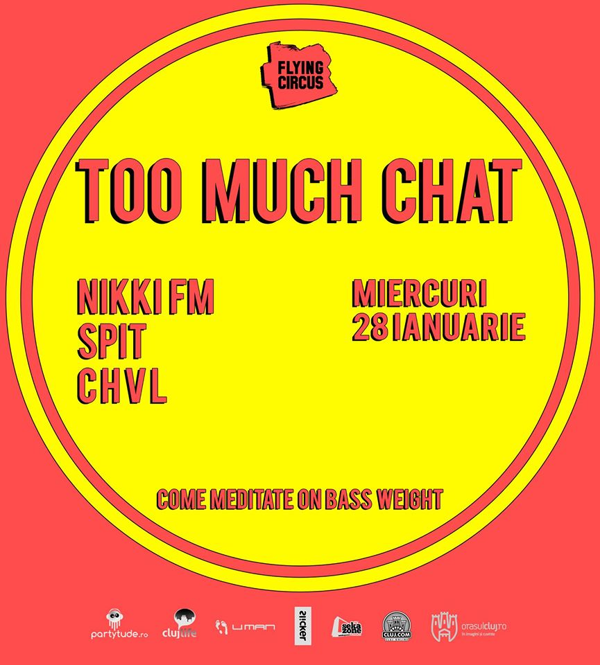 Too much chat @ Flying Circus Pub