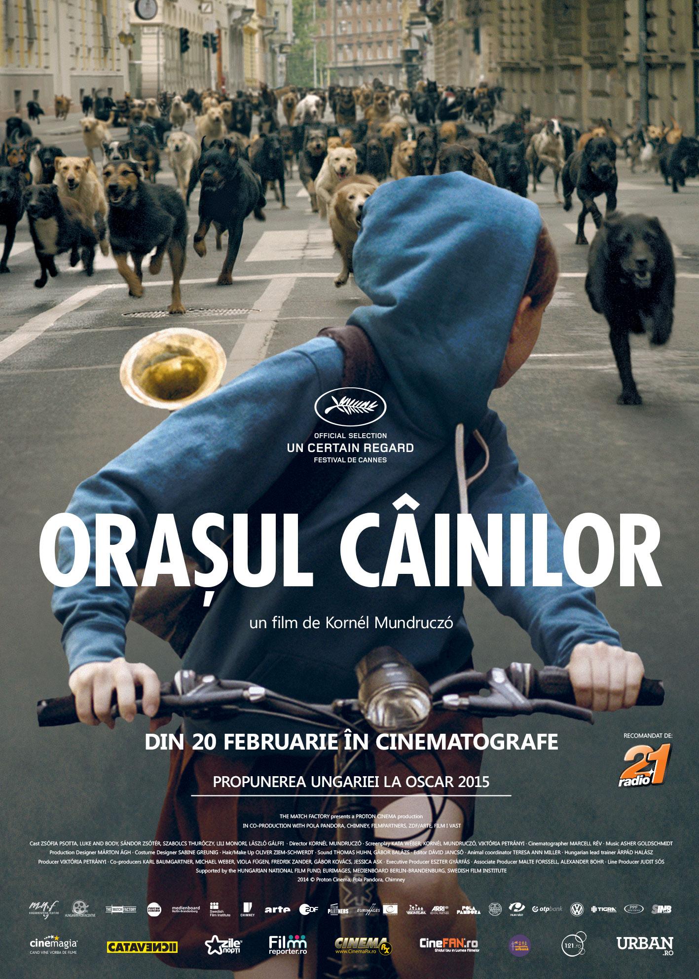 Orașul câinilor, din 20 februarie în cinematografe