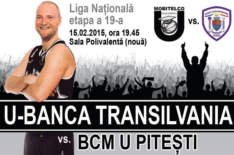 U-Banca Transilvania – BCM U Pitesti @ Sala Polivalenta