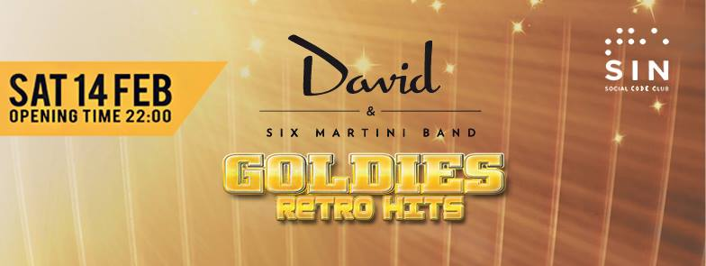 David & The Six Martini Band @ The Sin – Social Code Club