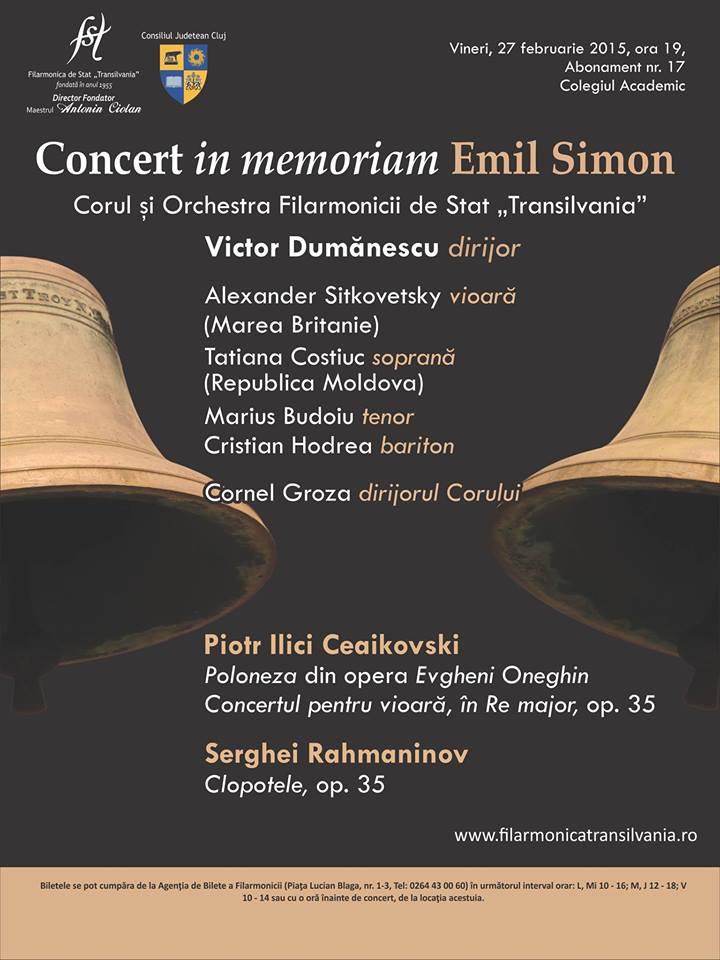 Concert vocal-simfonic | Victor Dumănescu dirijor