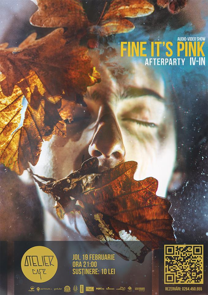 Fine It's Pink Audio-Video Show @ Atelier Cafe