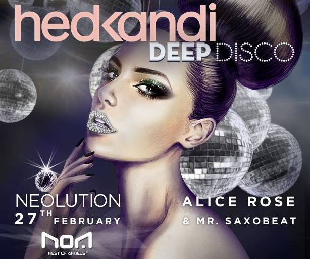 Hed Kandi's deep disco @ Club Noa