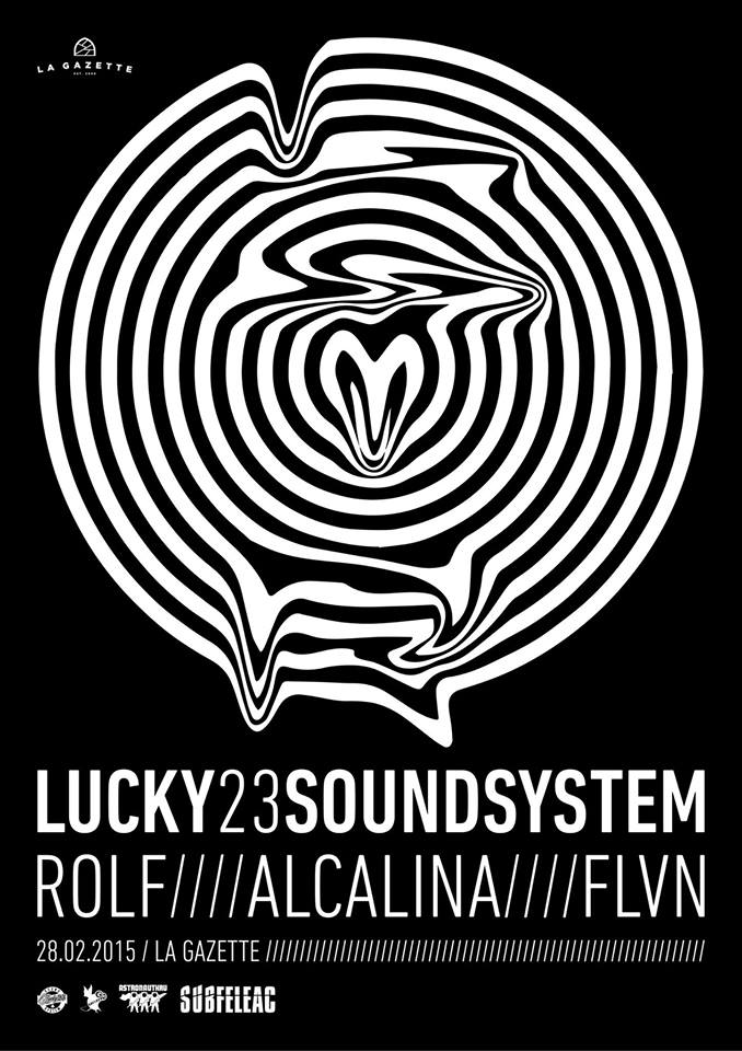 Lucky 23 Soundsystem @ La Gazette