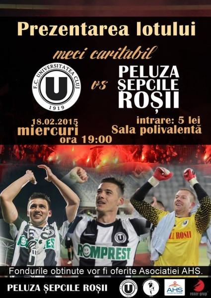 U Cluj vs Peluza Șepcilor Roșii @ Sala Polivalenta