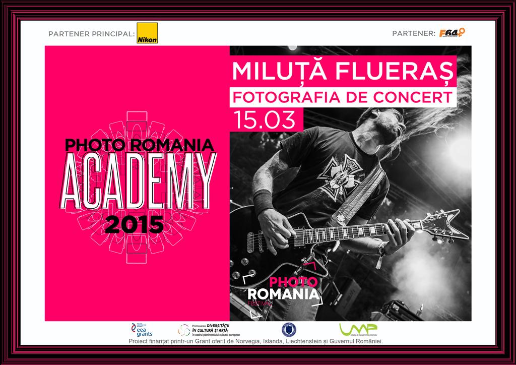 Fotografie de concert – Workshop cu Miluţă Flueraş