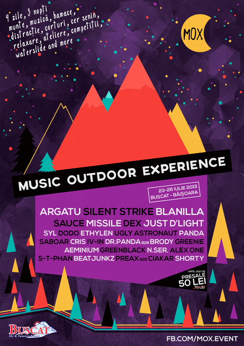 Music Outdoor Experience 2015 @ Muntele Băișorii