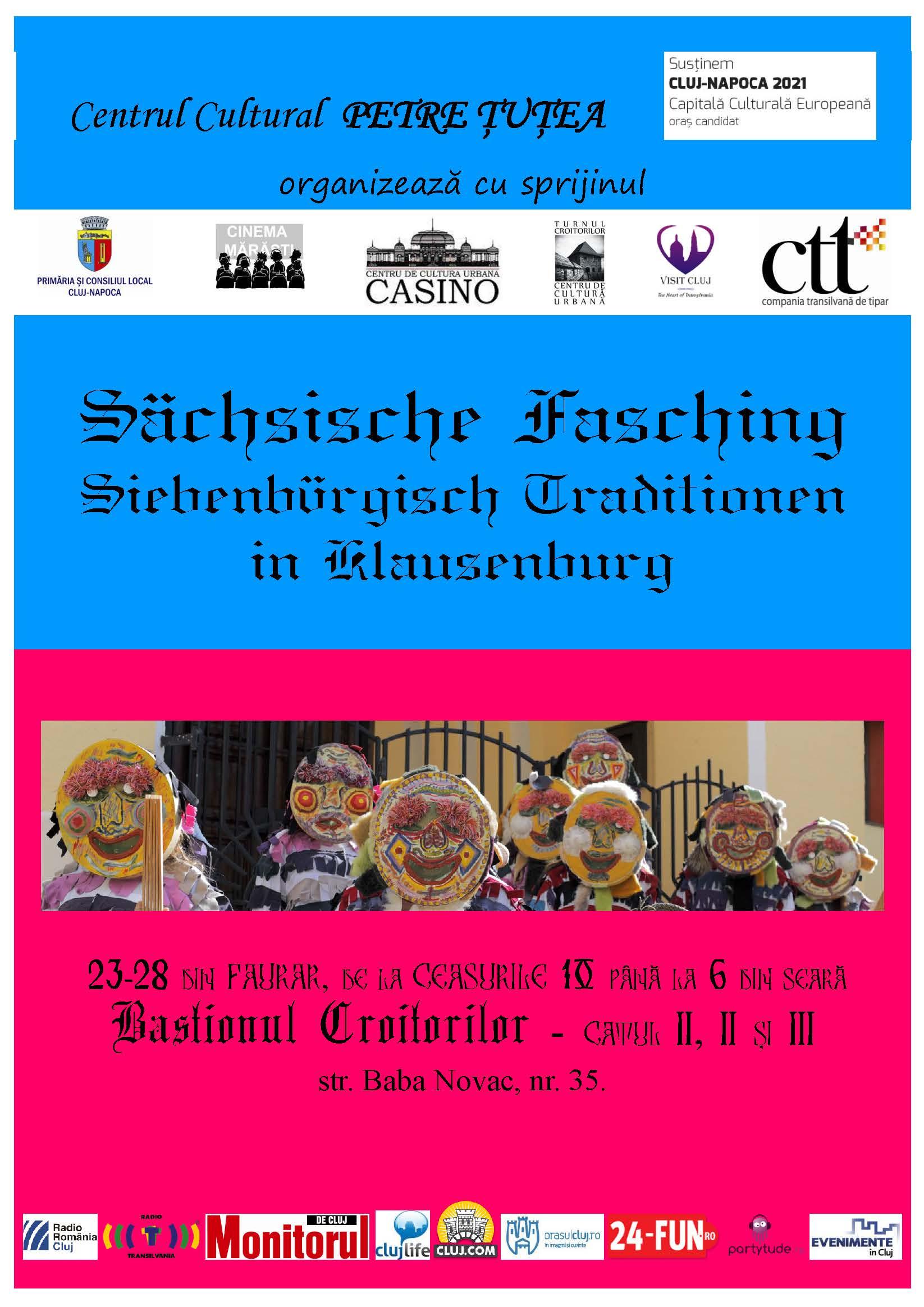 Sächsische Fasching – Siebenbürgisch Traditionen