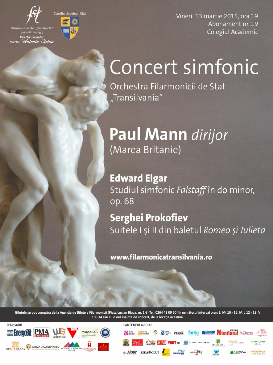 Concert simfonic | Paul Mann dirijor
