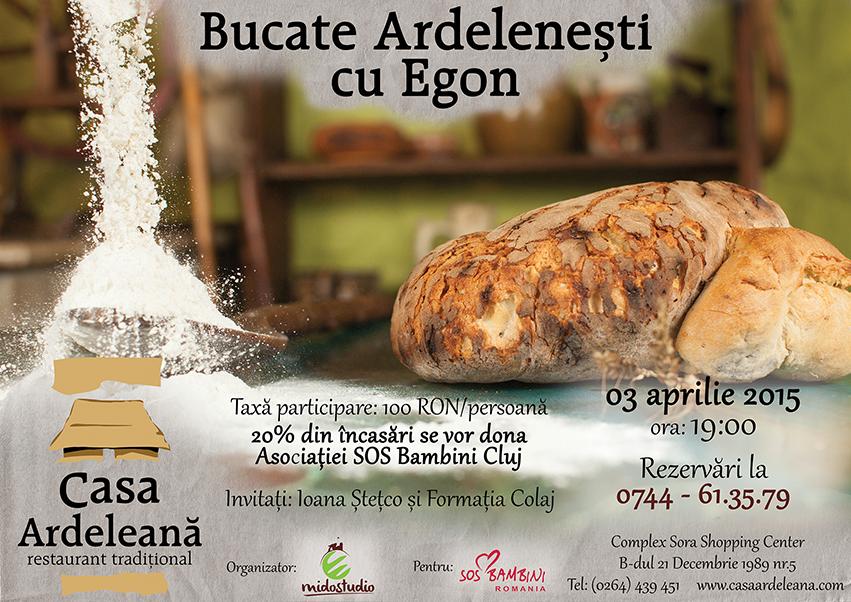 Bucate Ardelenești cu Egon @ Casa Ardeleană