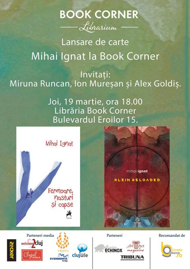 Mihai Ignat la Book Corner