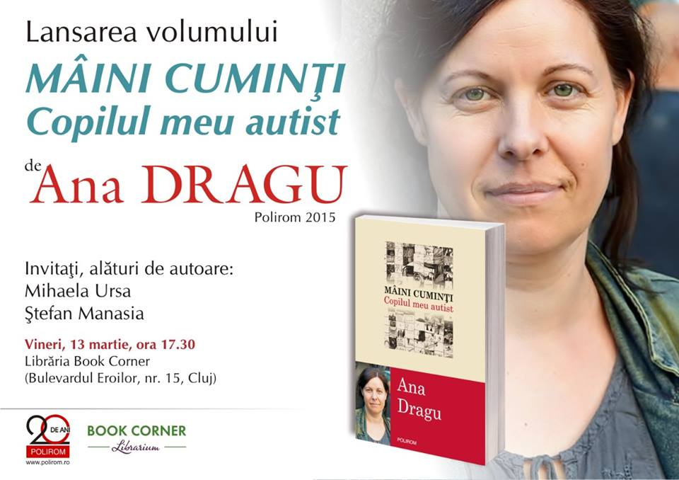 Ana Dragu – Mâini cuminți @ Book Corner