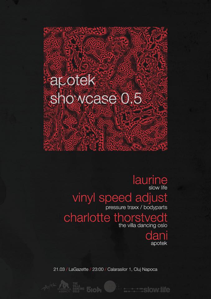 Apothek Showcase 0.5 @ La Gazette