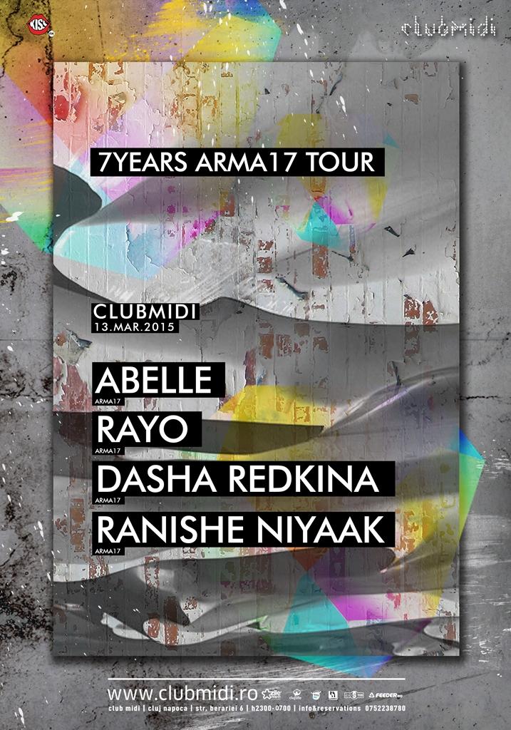 Arma 17 – 7 years tour @ Club Midi