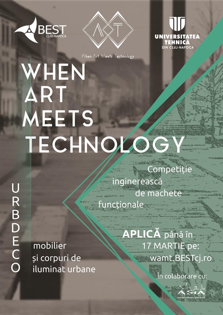 When Arts Meet Technology