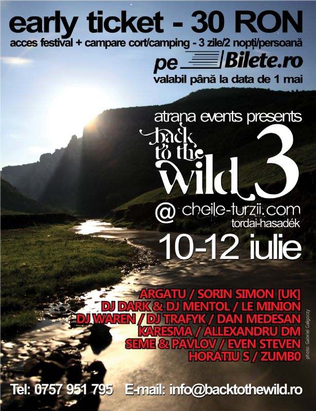 Back To The Wild @ Cheile Turzii