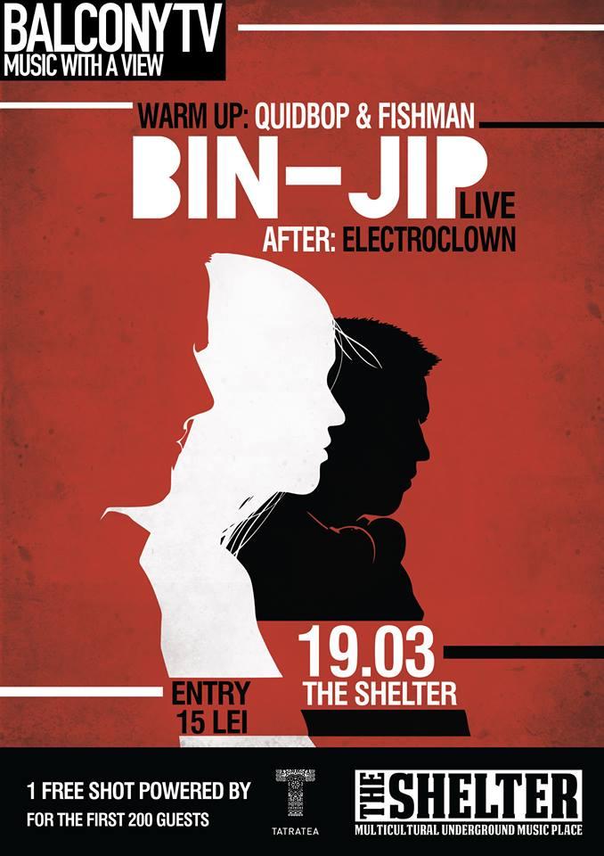 Balcony TV presents: Bin-Jip @ The Shelter