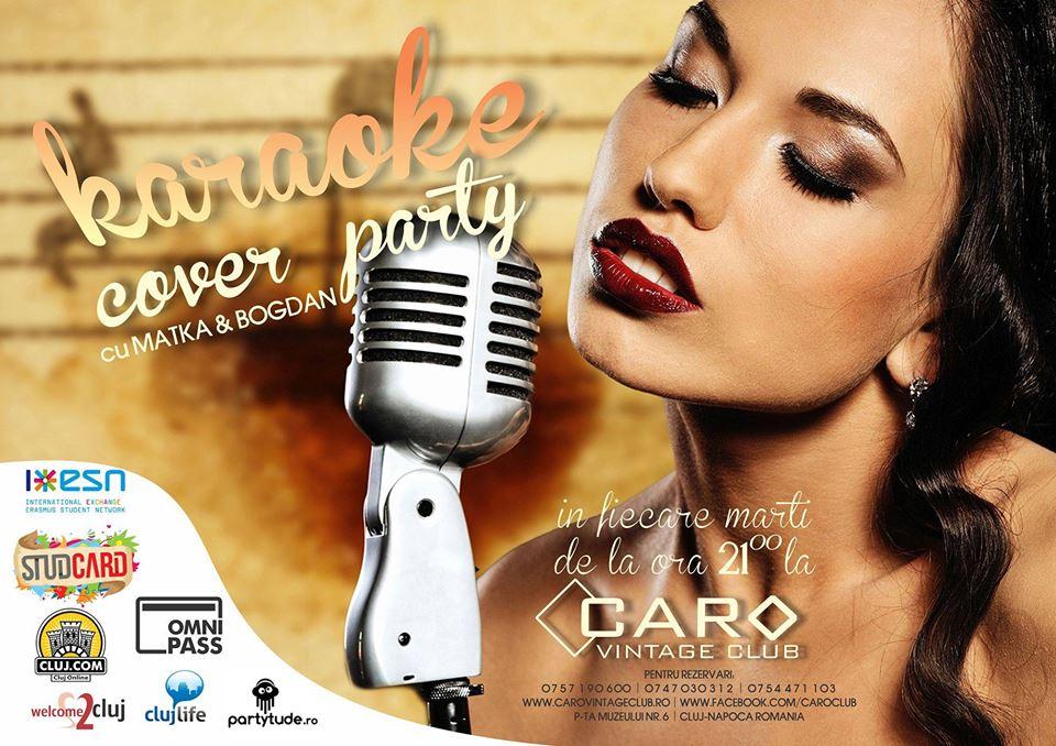 Karaoke & Cover Night @ Caro Club
