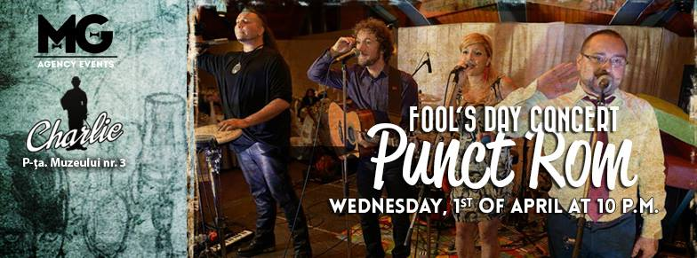 Punct ROM (Fools Day Concert) @ Charlie