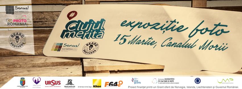 """Expoziţie """"Clujul merită"""" pe Canalul Morii"""