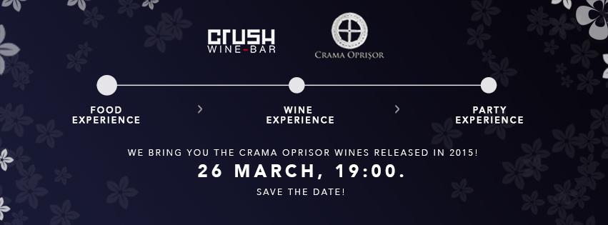 Degustare de vin @ Crush Wine Bar