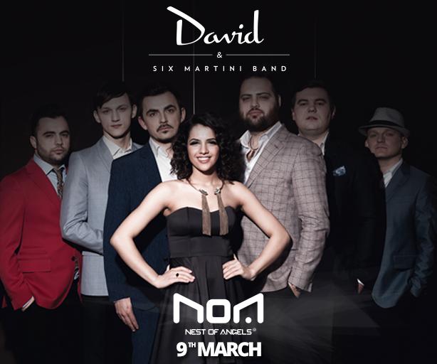 David & Six Martini Band @ Club Noa