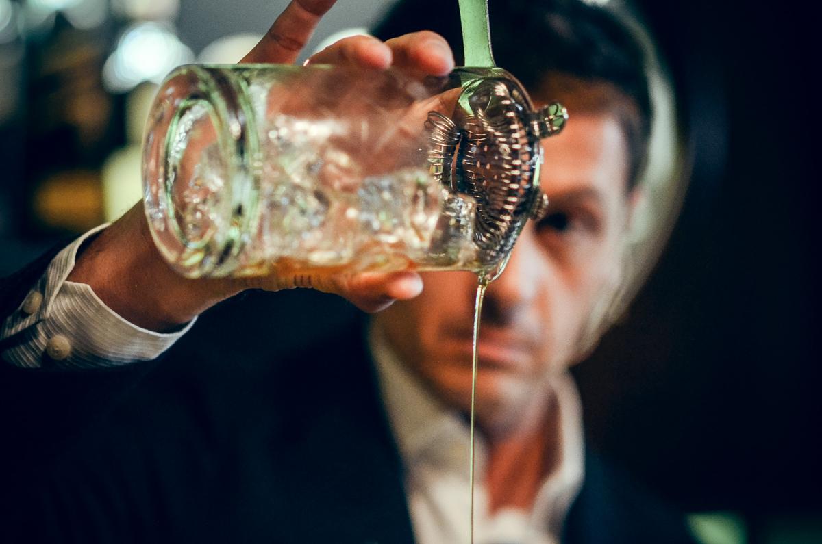David Rios le-a vorbit barmanilor clujeni despre Diageo Reserve World Class 2015