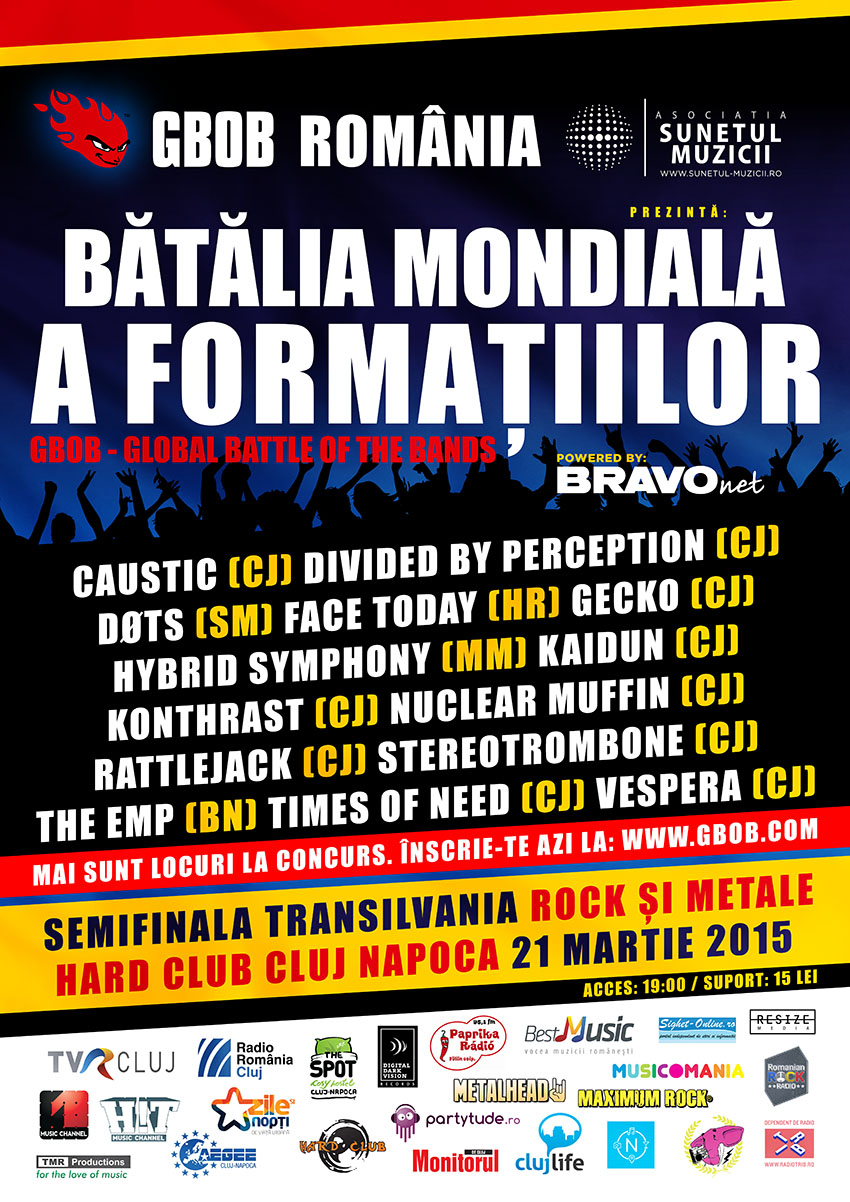 GBOB: Semifinala Transilvania @ Hard Club