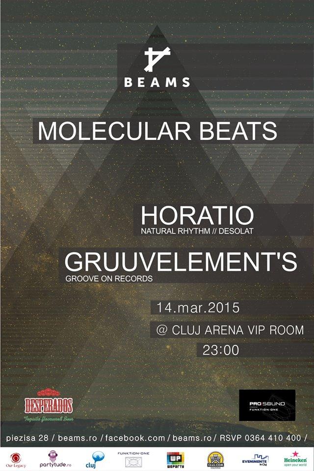 Molecular Beats @ Cluj Arena