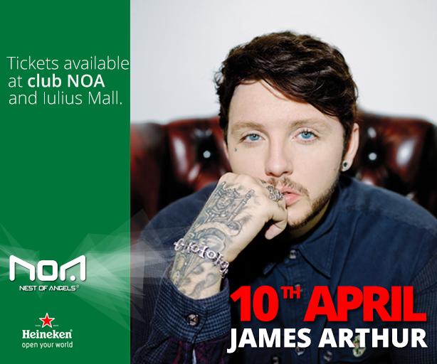 James Arthur @ Club Noa
