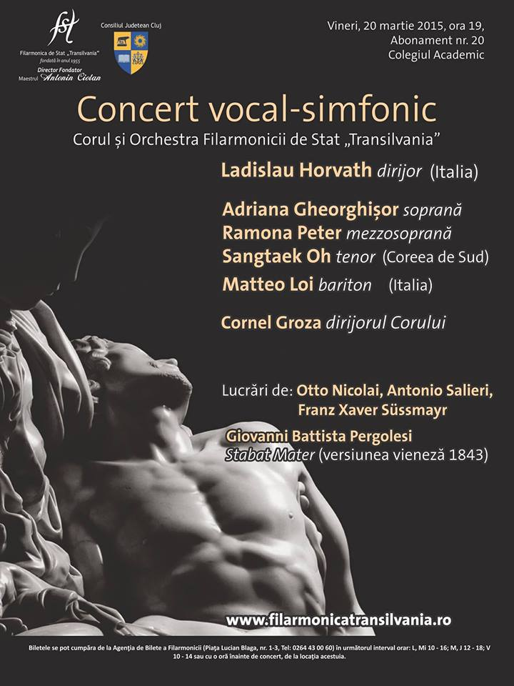 Concert vocal-simfonic | Ladislau Horvath dirijor