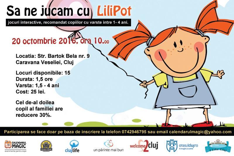 Să ne jucăm cu Lilipot @ Caravana Veseliei