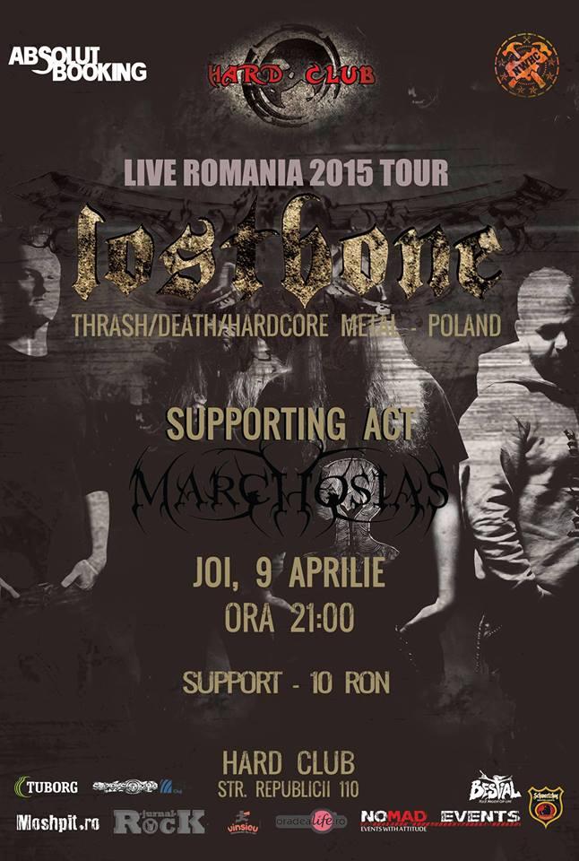 Lostbone / Marchosias @ Hard Club