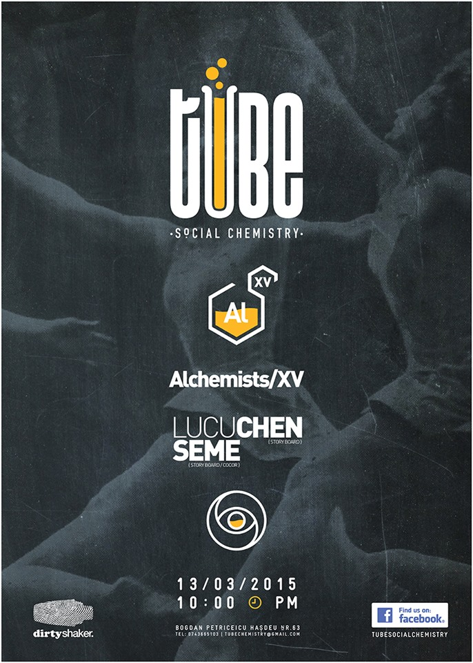 The Alchemists/XV @ Tube – Social Chemistry Bar