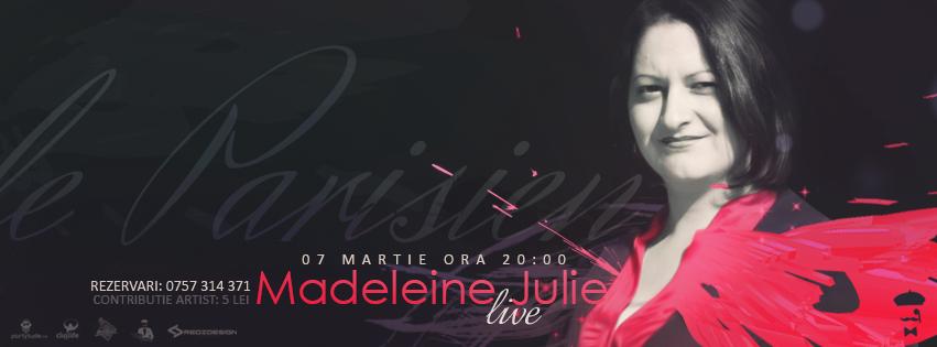 Madeleine Julie @ Le Parisien Cafe