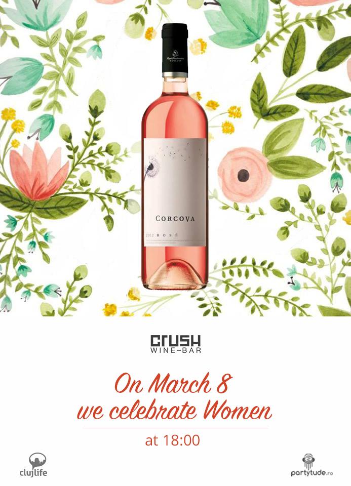 We celebrate Women @ Crush Wine Bar
