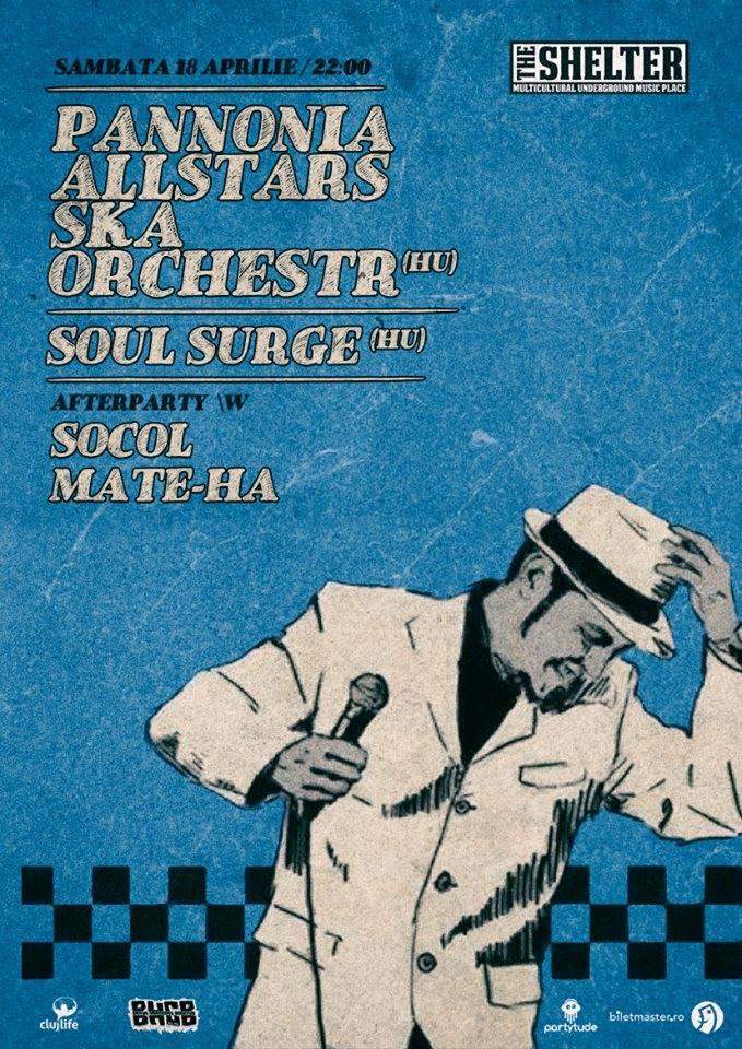 Pannonia Allstars Ska Orchestra @ The Shelter