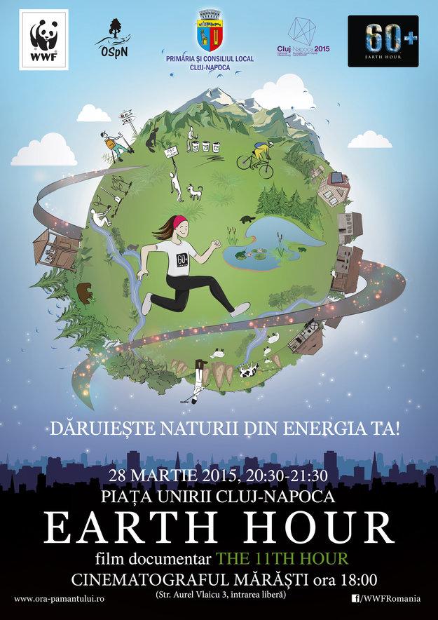 Earth Hour România @ Piața Unirii