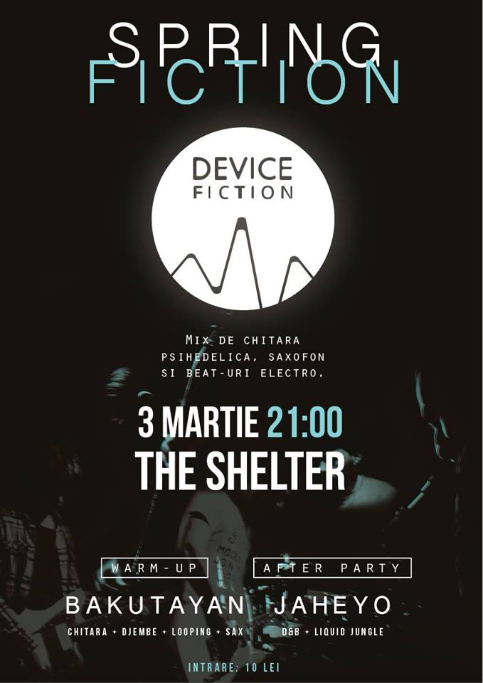 Spring Fiction @ The Shelter
