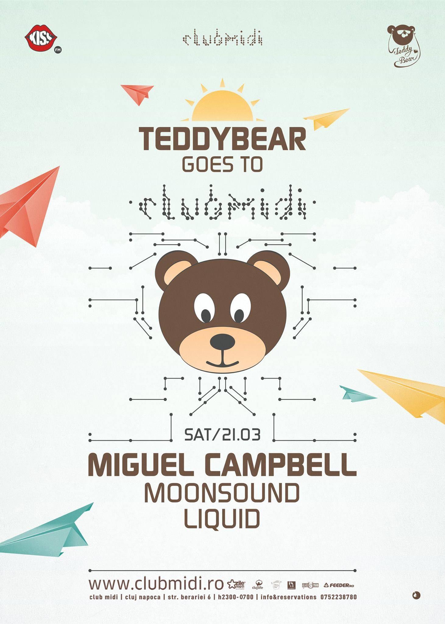 Miguel Campbell @ Club Midi