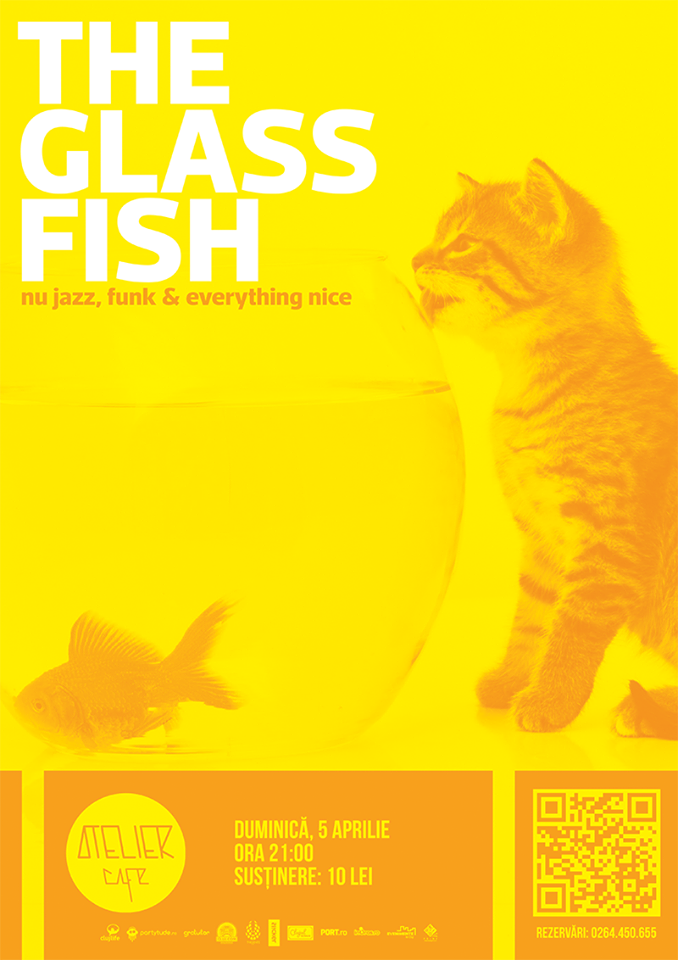The Glass Fish Live @ Atelier Cafe