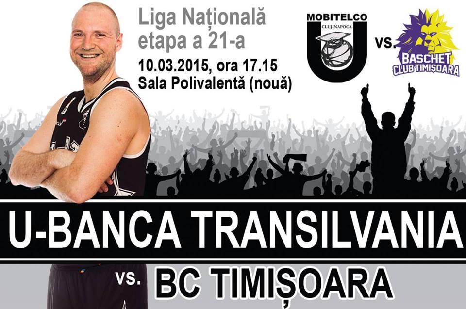 U – Banca Transilvania – BC Timişoara