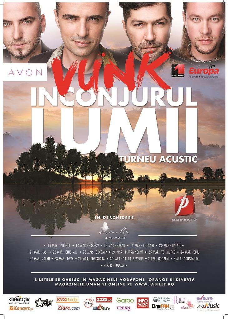 Vunk – Înconjurul lumii @ Casa de Cultura a Studentilor