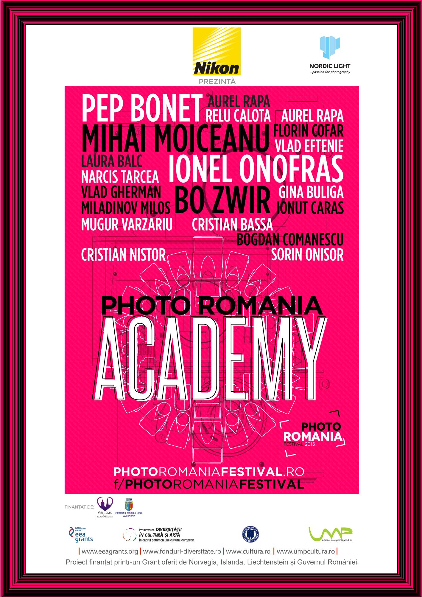 Peste 20 de workshop-uri la Photo Romania Festival