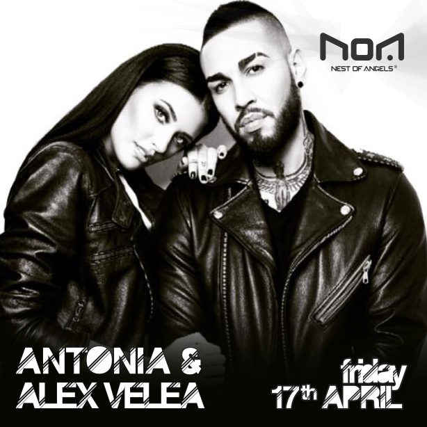 Antonia și Alex Velea @ Club NOA