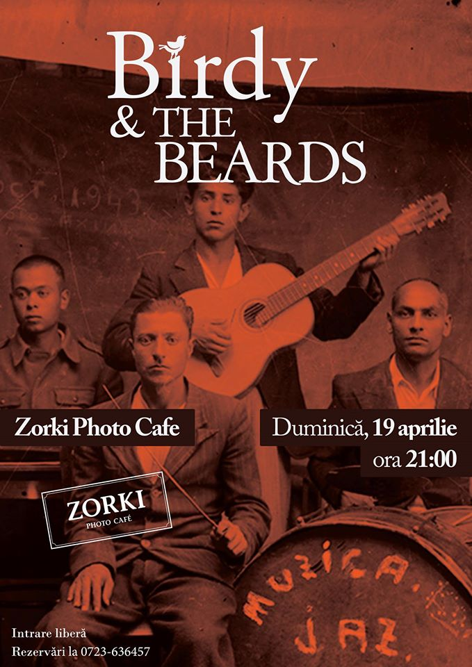 Birdy & The Beards @ Zorki Photo Cafe