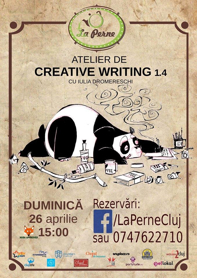 Atelier de Creative Writing @ La Perne