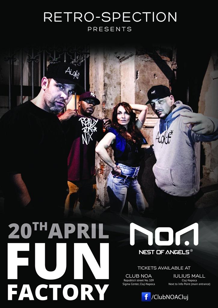 Fun Factory @ Club NOA
