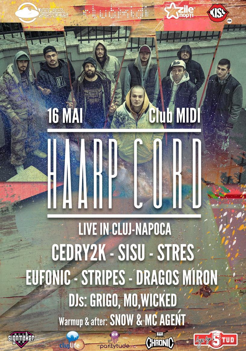 Haarp Cord live @ Club Midi